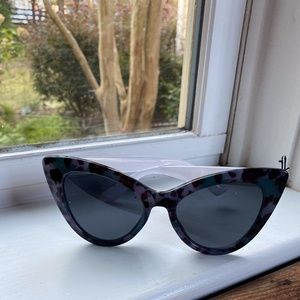 FREE PEOPLE Extreme Cat Eye Sunglasses